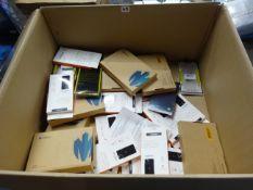 BOX OF PHONE CASES