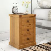3 Drawer Bedside Table - RRP £108.99