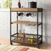 Exeter Serving Cart - RRP £159.99