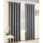 Falkner Eyelet Room Darkening Thermal Curtains - RRP £37.00
