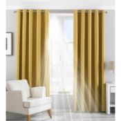 Eclipse Eyelet Blackout Thermal Curtains(Set of 2) - RRP £80
