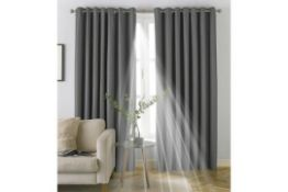 Chemung Eyelet Blackout Curtain - RRP £58.99