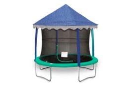 3m x 3m Fibreglass Pop-Up Gazebo (no trampoline) - RRP £101.99