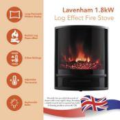 Lavenham Log Effect Electric Stove - RRP £98.59