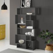 Sandra 168.5Cm H x 96Cm W Standard Bookcase - RRP £149.99