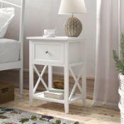 Stanhope 1 Drawer Bedside Table - RRP £49.99