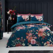 Floral Duvet Cover Set - RRP £16.99