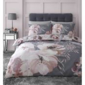 Dramatic Floral Duvet Cover Set - RRP £33.00