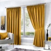 Coleraine Pencil Pleat Blackout Thermal Curtains - RRP £39.80