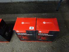 X2 USB GAMING DESK TOP MICROPHONES