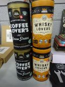 X2 COFFEE LOVERS PUZZLES & X2 WHISKEY LOVERS PUZZLES BRAND NEW