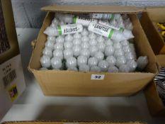BOX OF APPROX 100 BOTTLES OF HAND SANITISER