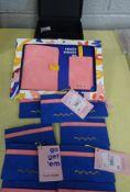 X9 CARD HOLDERS, PASSPORT SET, WATCH & CUFFLINK BOX FROM DEBENHAMS