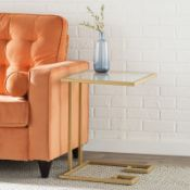 Panther Gold Side Table - RRP £78.99