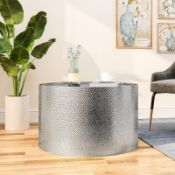Sevilla Silver Coffee Table with Tray Top - RRP £159.00