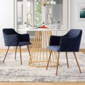 Clickett Upholstered Arm Chair (Set of 2) - RRP £209.99