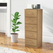 5 Drawer Chest - RRP £119.00