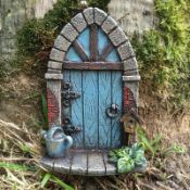 Shultz Mini Arched Fairy Garden Door - RRP £11.99