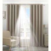 Eclipse Eyelet Blackout Thermal Curtains - RRP £90.00