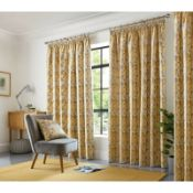 Archie Pencil Pleat Room Darkening Curtain - RRP £76.11