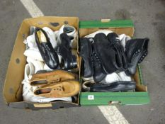 X2 BOXES OF WORK SHOES VARIOUS DESIGNS & SIZES