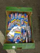 BOX OF MINI TRIPOD STANDS