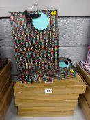 40 CHEVRON NED GIFT BAGS