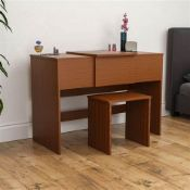 Reiban Dressing Table Set with Mirror - RRP £81.99