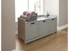 90 x 45cm Free-Standing Cabinet - RRP £72.99