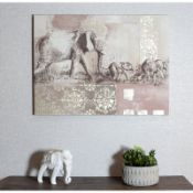Elephant - Wrapped Canvas Graphic Art - RRP £43.99