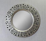 Circular Golden Mirror - RRP £25.00