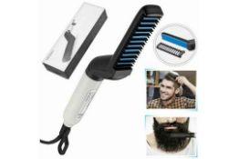 x10 New Beard & Hair Straightening Combs