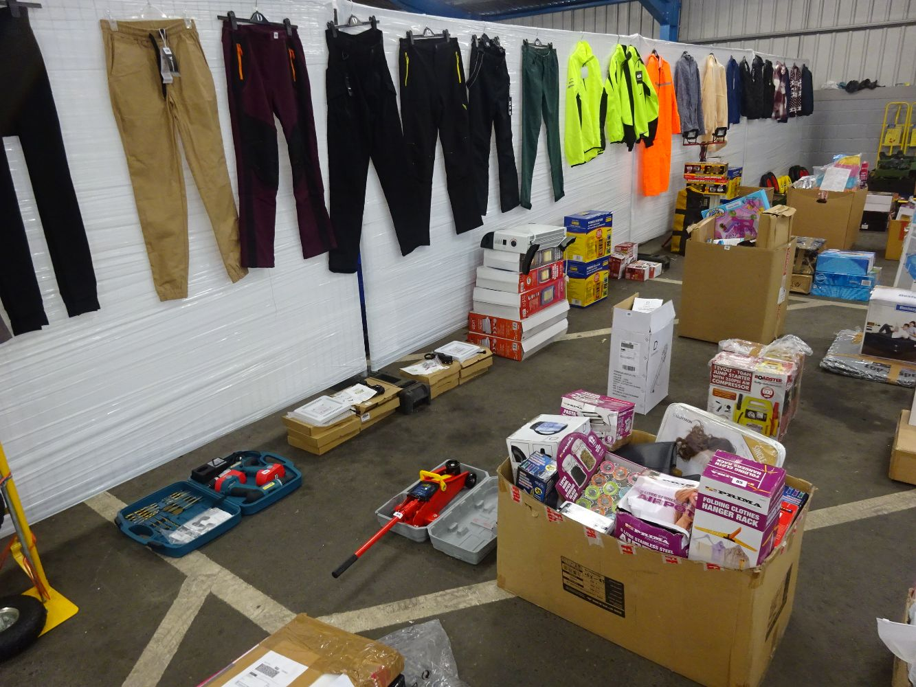 Boxes Of Raw Untested Customer Returns -  Amazon Stock, Tools, Kitchenware, Electricals, Clothing, Toys, Sun Loungers. GREAT FOR RESELLERS