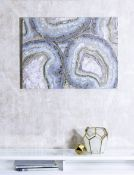 Arthouse Gold Agate Wall Art - RRP £34.99