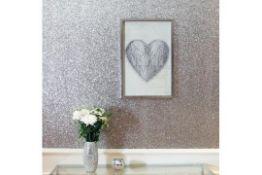 Heart String 3D Framed Print - RRP £63.99.