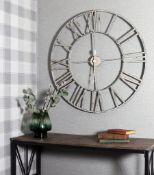Arthouse Large Wall Clock (77.5CM)- RRP £49.99.