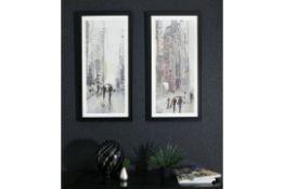 Stretch City Scenes Framed Prints (set of 2) - RRP £68.99