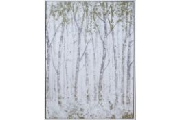 Glitter Trees Capped Canvas - RRP £50.99
