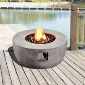 Fraida Stone Propane Fire Pit RRP £599.99