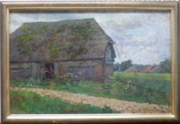 Bauernhäuser aus ''Livland'' 1906