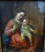 """Madonna mit dem Korb"", nach Correggio, 17./18.Jh."