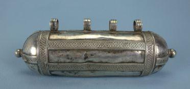 Amulett-Dose, turkmenisch, 19.Jh.