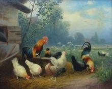Scheuerer, Otto: Hühnerhof