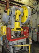 1958 Johnson Machine Model 10-BG, 125-Ton Open Back Inclinable Punch Press
