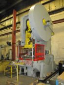 Bliss Model 30, 200-Ton Open Back Inclinable Stamping Press