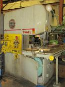 DoAll Contour-Matic Model 26-3 Vertical Bandsaw