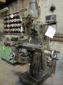 1989 Super Max Vertical Milling Machine
