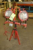 Commercial Electric Dual Lamp Worklight