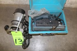 Lot of Bosch Hand Planer & Porter Cable Router