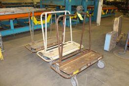 Lot of 3) Panel Carts